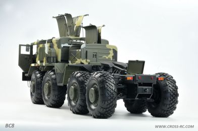 Cross RC BC8 Mammoth RC Military Truck 1/12 Scale Off Road Kit