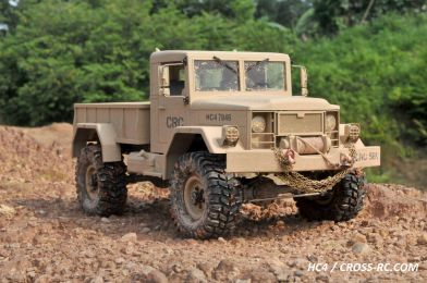HC4 Off Road Military Truck Kit - 1/10 Scale 4x4 by Cross RC