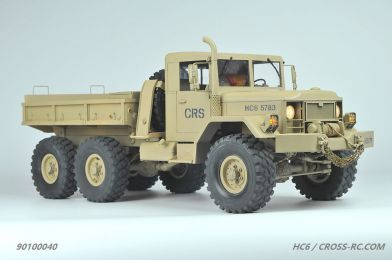 HC6 Cross RC Truck, 1/12 6x4 Scale Off Road Military Truck Kit