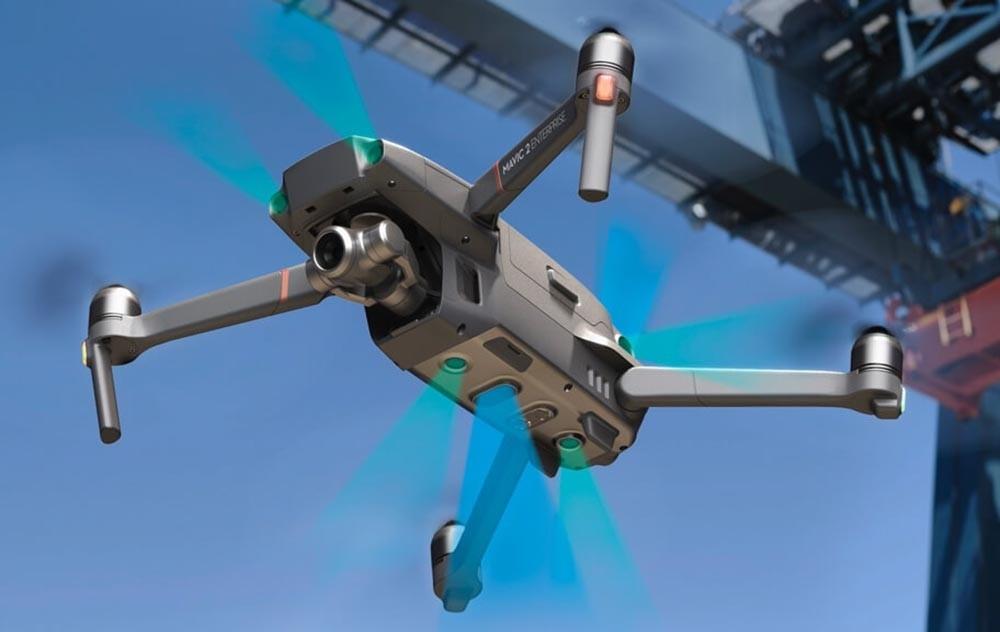 DJI Mavic 2 Enterprise Zoom Drone with Smart Controller