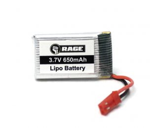 1S 3.7V 650mAh Lipo Battery; Stinger 240 Drone