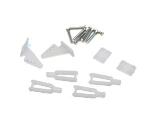 Hardware Set (2 Horns, 4 Clevis): Super Cub 750 RC Airplane