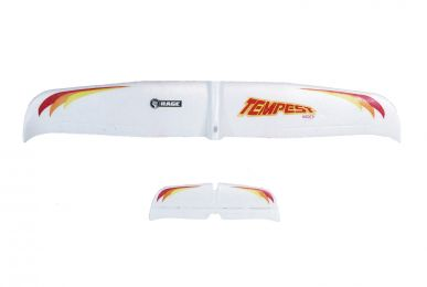 Main Wing and Tail Set; Tempest 600 RC Airplane