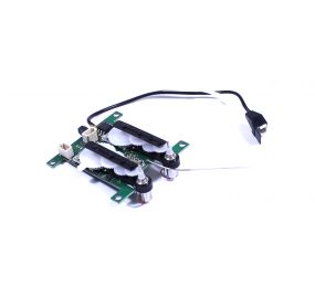 3-in-1 Control Unit; Receiver, 2 Servo, ESC: Beechcraft Airplane