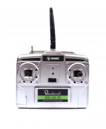 Micro 5-Channel Transmitter w/ Charger, Mode 2; Beechcraft