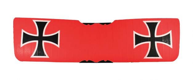 Main Wing w/ Support; Vintage Stick RC Airplane (Red)