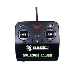 2.4G 5-Channel Transmitter; Defender 1100 RC Airplane