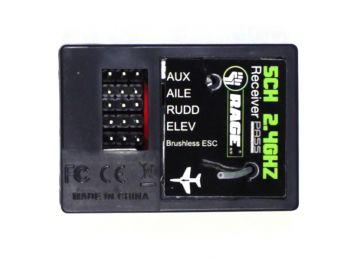 6-Channel 2.4G Receiver; Defender 1100 RC Airplane
