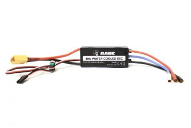Water-Cooled 40A Brushless ESC SC700BL Super Cat RC Boat