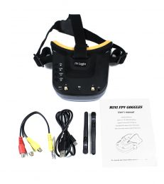FPV Goggles, Universal 5.8GHz, for Drone Racing Enthusiasts