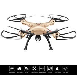 Syma X8HC Drone for Kids - 2.4G 4CH 6-Axis Gyro RC Quadcopter
