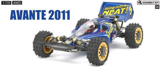 Avante by Tamiya, RC Buggy Kit, 1/10 4WD RC Car (2011)